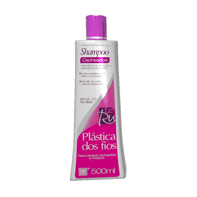 Le Ru Plástica dos Fios Cacheados Shampoo 500ml
