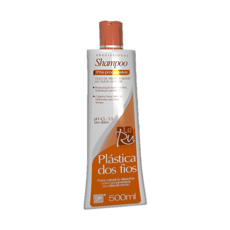 Le Ru Plástica dos Fios Shampoo Pós Progressiva 500ml