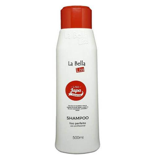 Liso Japa Premium La Bella Liss Shampoo Liso Perfeito 500ml
