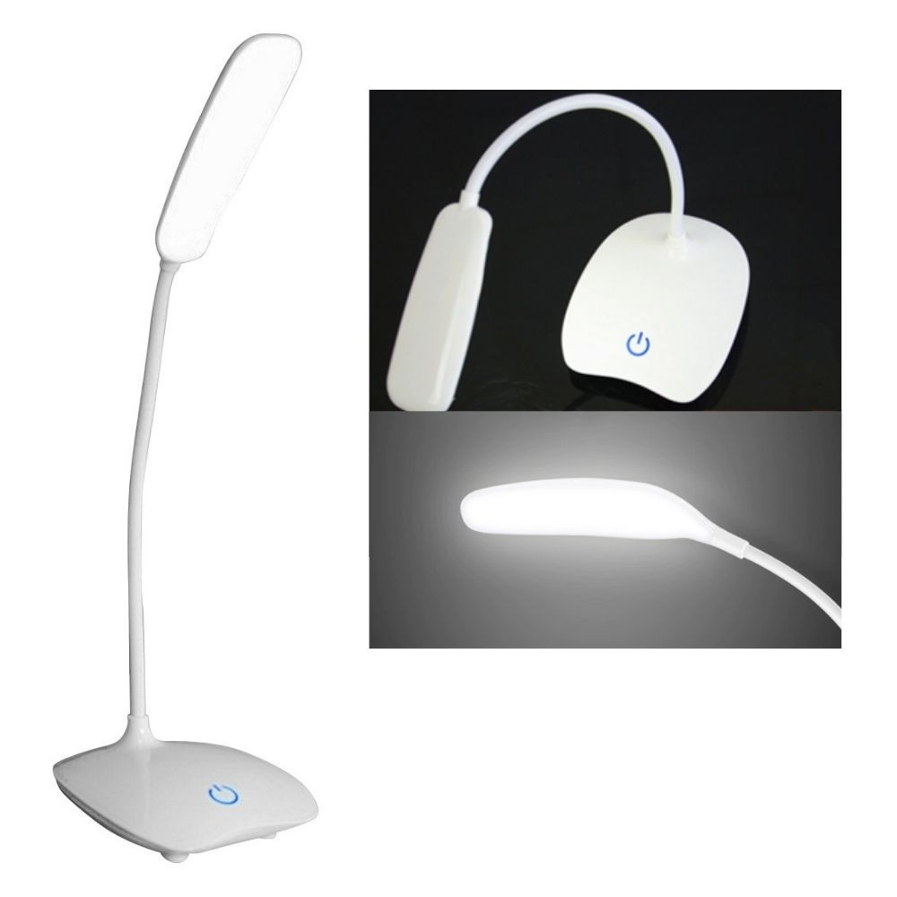 Luminária Recarregável Com Touch Sem Fio 3 Níveis Luz 14 Led