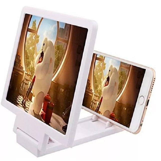 Lupa 3D Ampliadora Tela De Celular Universal