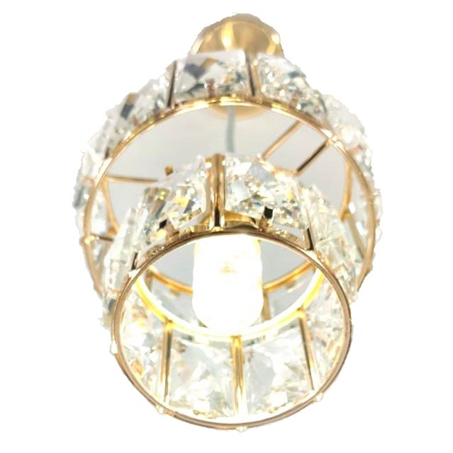 Lustre Pendente  Cristal Redondo LED DCD186