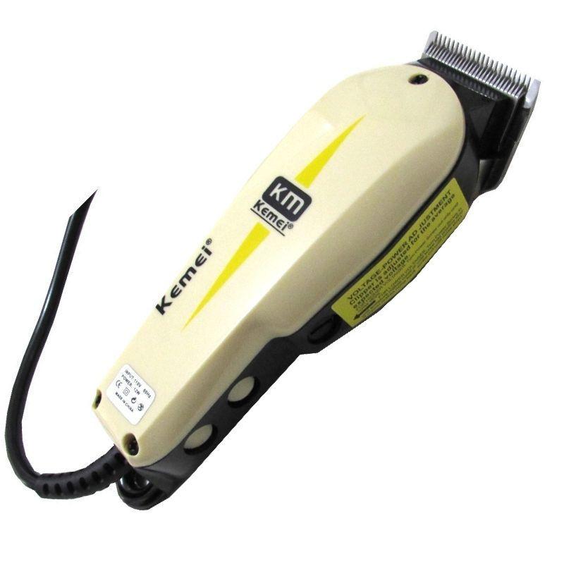 Máquina Corta Cabelo Barba Profissional Kemei 110 e 220V Kemei 809