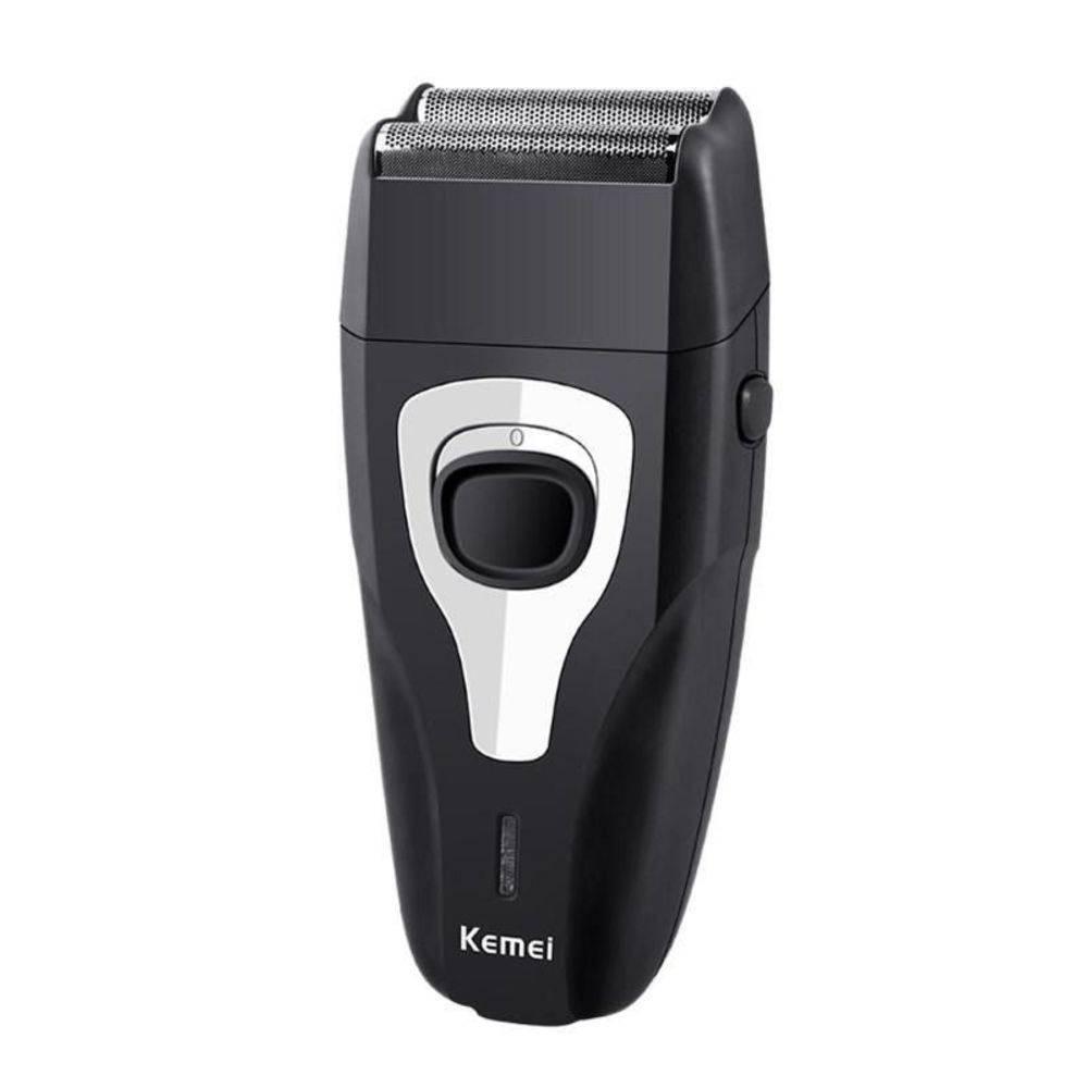 Maquina De Barbear Kemei  2 Em 1 Barba E Pezinho Sem Fio Recarregável Bivolt Km-1103