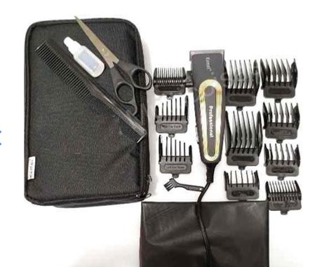 Maquina de corta cabelos Profissional Kemei 6360 Novidade