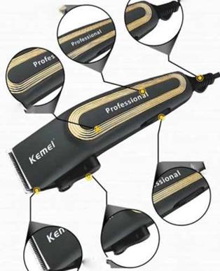 Maquina de corta cabelos Profissional Kemei 6360