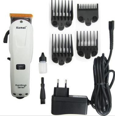 Maquina de corta cabelos Recarregavel profissional Kemei KM 2578 FULL