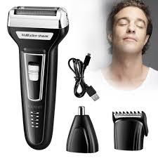 Maquina De Cortar Cabelo, Barba E Pelos Sem Fio  Kemei 6559
