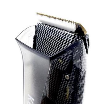 Maquina de cortar cabelo com aspirador kemei 77 Lançamento