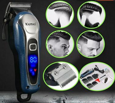 Maquina de cortar cabelo Lançamento recarregável Kemei 1995