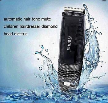 Maquina de cortar cabelo sem sujeita com aspirador kemei 77 Lançamento