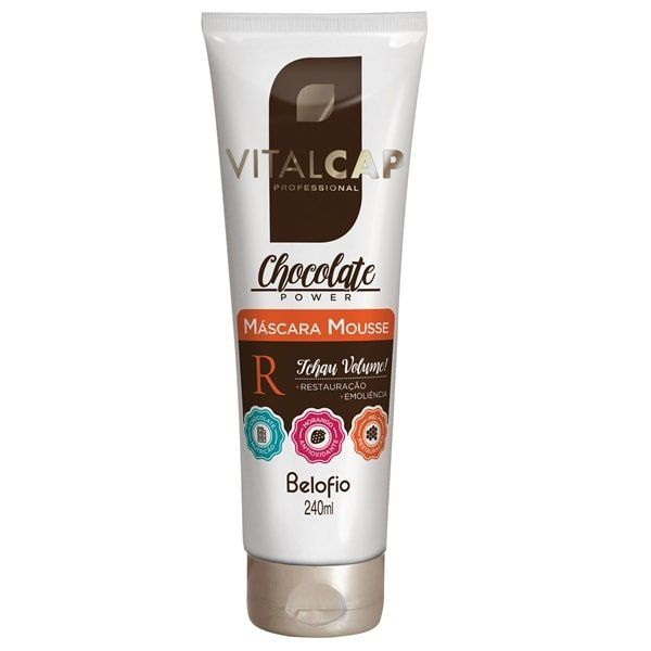 Máscara Mousse Chocolate Power VITALCAP 240ml