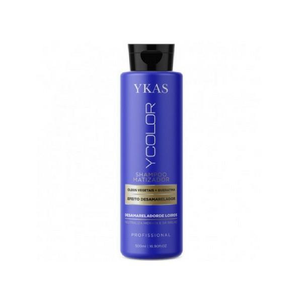 Matizador Shampoo Ykas 500ml