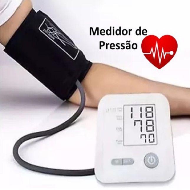 Medidor Arterial De Pressão Digital Tomate Mt-9003