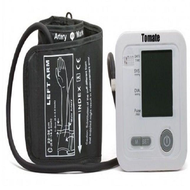 Medidor De Pressão Digital Braço Tomate Mt-9003