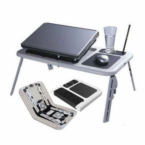 Mesa para Notebook Dobrável E Ajustável Formato Ergonômico Mtn-888 Tomate
