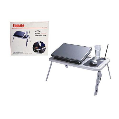 Mesa para Notebook Formato Ergonômico Dobrável E Ajustável  Mtn-888 Tomate