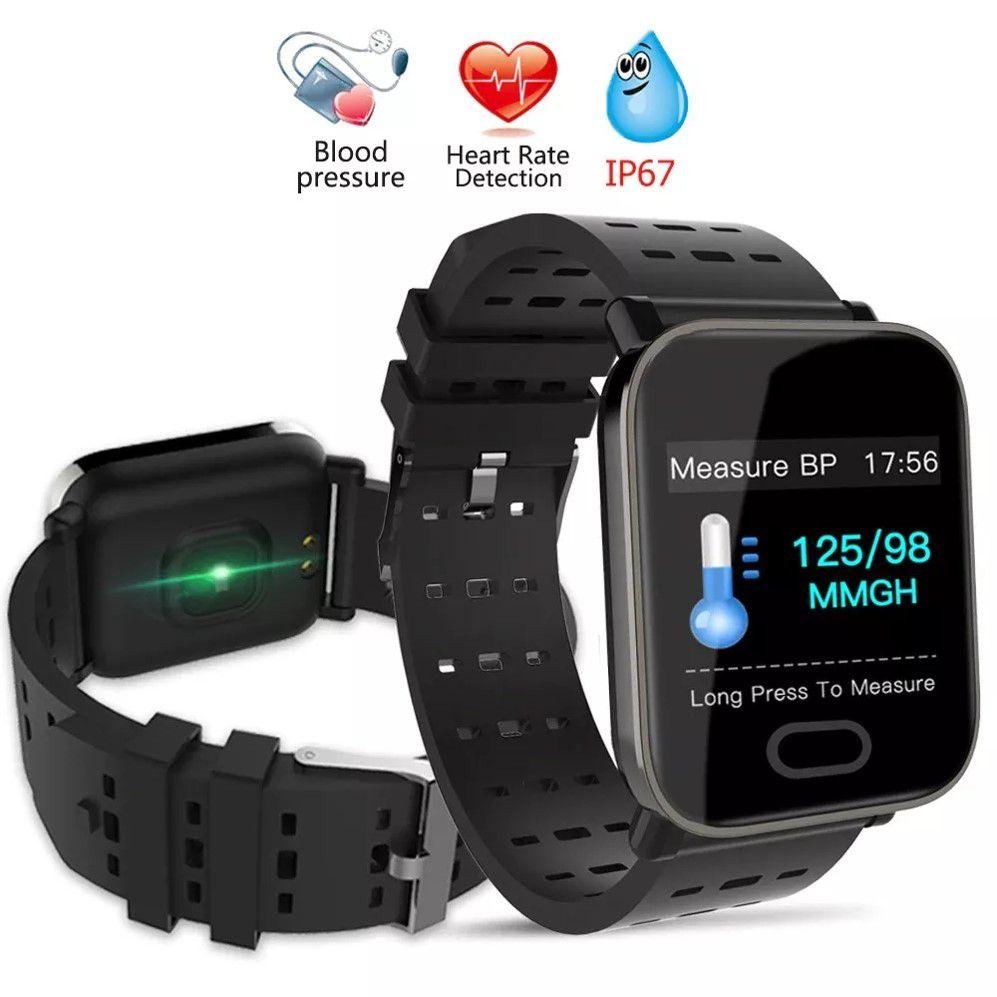 Mi A6 Sport Relógio Pulseira Smartwatch Android e IOS