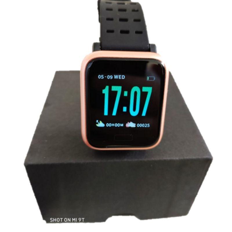 Relógio Pulseira Smartwatch A6 Smartband Dourado