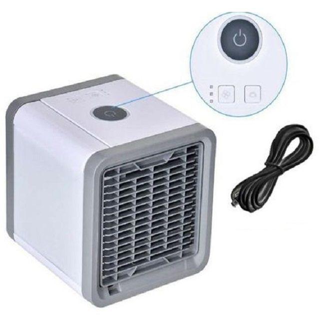Mini Ar Condicionado Portátil Com LED Colorido MLF-001 - Tomate