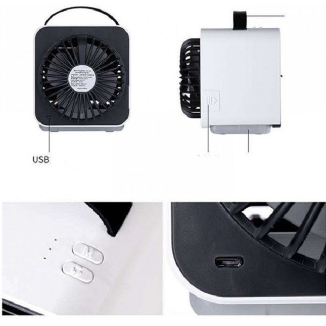 Mini Ar Condicionado Purificador Umidificador Ls- 900 USB