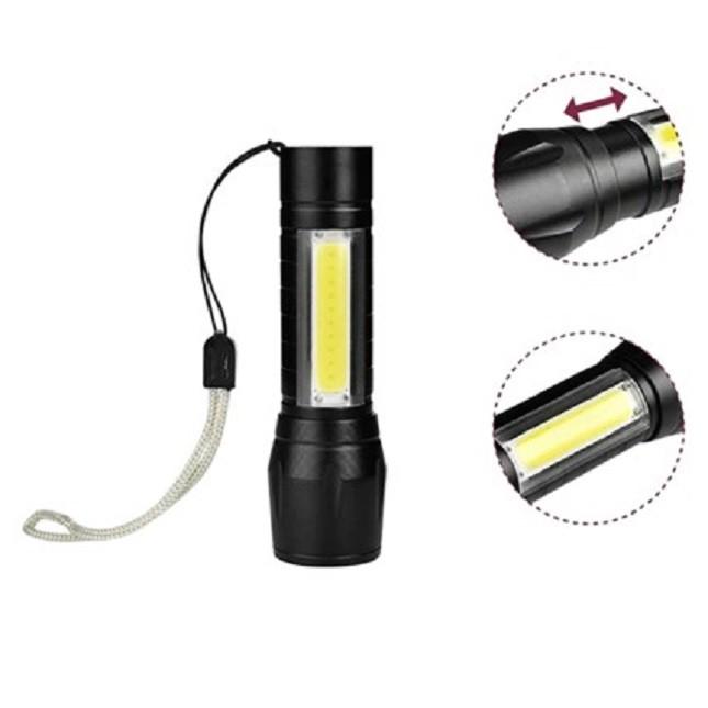 Mini Lanterna Tática Led Usb Recarregável