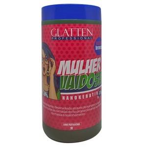 Mulher Vaidosa Glatten Professional Creme Alisante 1kg