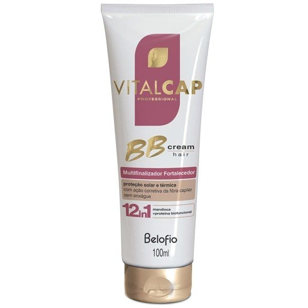 Multifinalizador Fortificante  BB Cream Hair VITALCAP 100ml