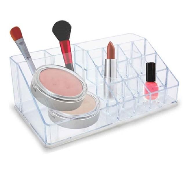 Organizador para Maquiagem Acrílico 16 Nichos
