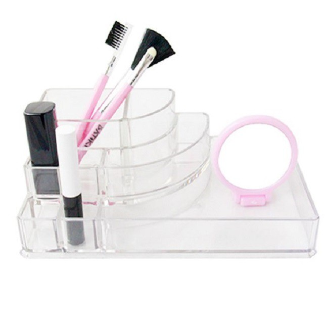 Organizador para Maquiagem Acrílico 8 Nichos