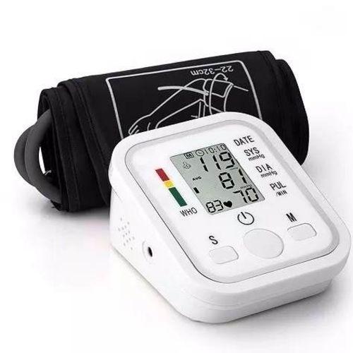 Oxímetro  de Saturação de Oxigênio no Sangue e Medidor De Pressão Arterial Digital de Braço