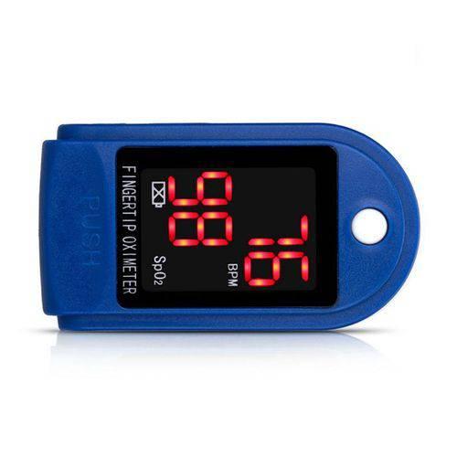 Oxímetro Digital De Dedo para Medidor De Saturação De Oxigênio