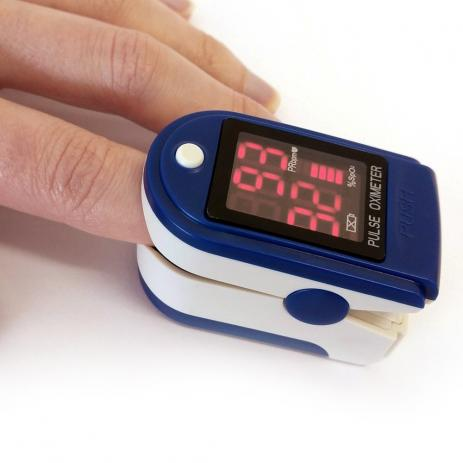 Oximetro Medidor de Saturação Sanguínea  Digital