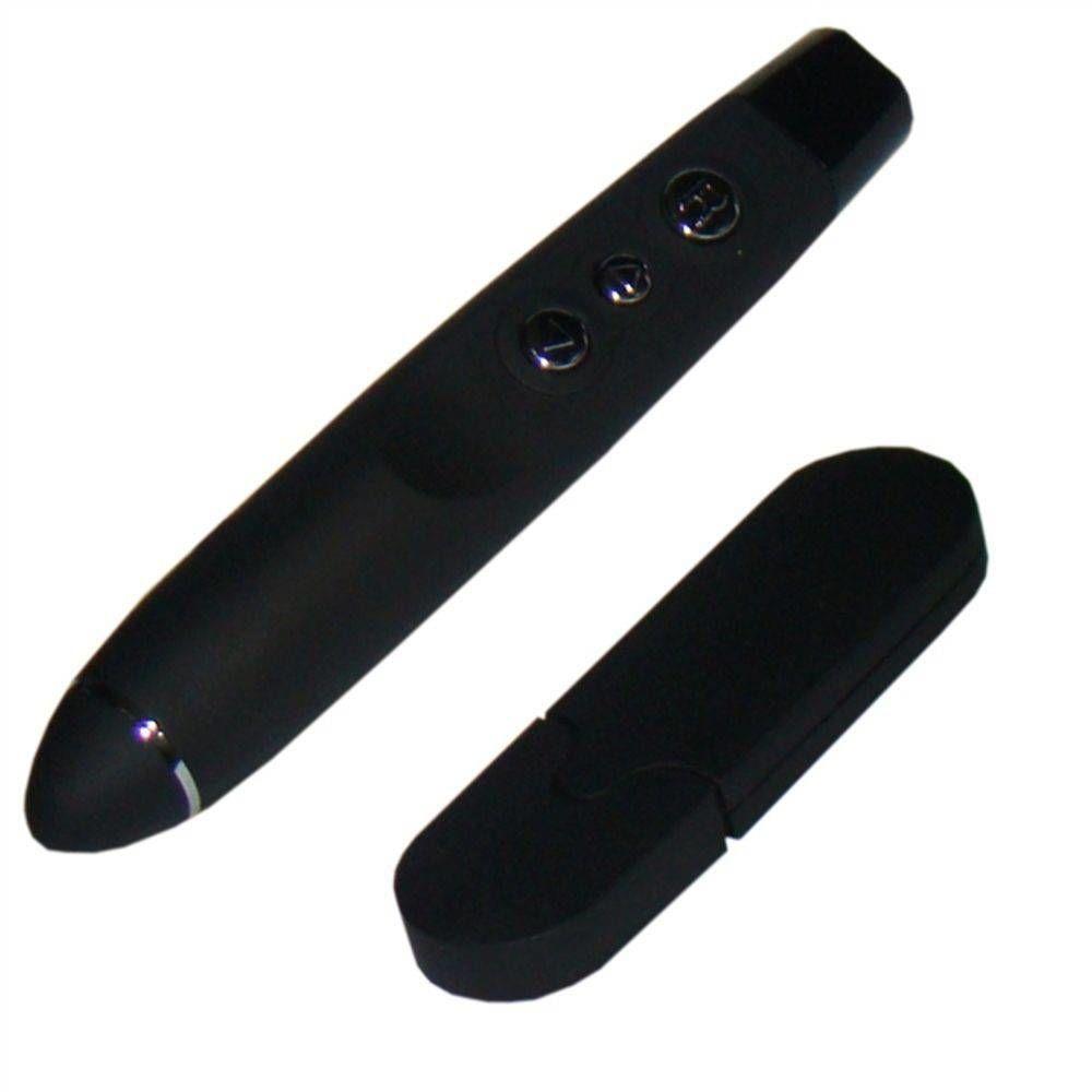 Passador De Slides Apresentador Tipo Caneta com Laser Power Point Wireless
