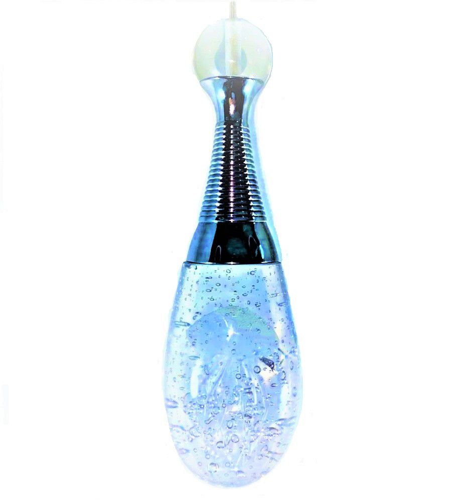 Pendente Água Viva de Cristal Oceano Iluminação em LEDS