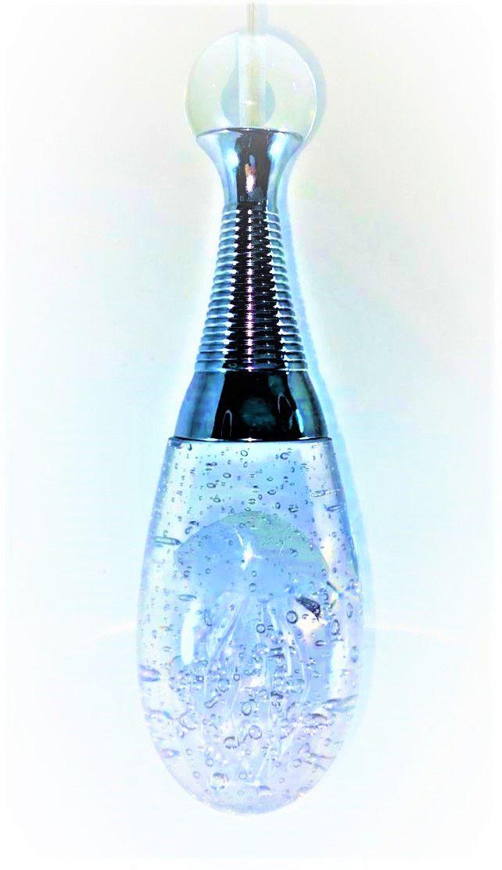 Pendente Lustre  de Cristal Oceano Água Viva Iluminação em LEDS