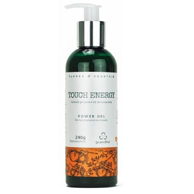 Power Gel Touch Energy Grandha  Flores e Vegetais  240g