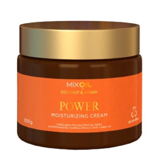 Power Moisturizing Coconut & Argan Cream 300g - Grandha