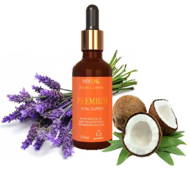 Premium Vital Supply Mix Oil Coconut & Argan 50ml -