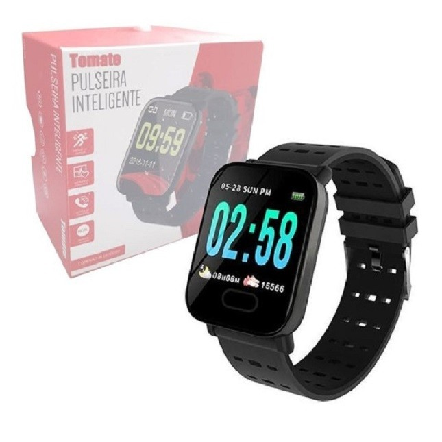 Pulseira Inteligente SmartWatch  Bluetooth MTR 23