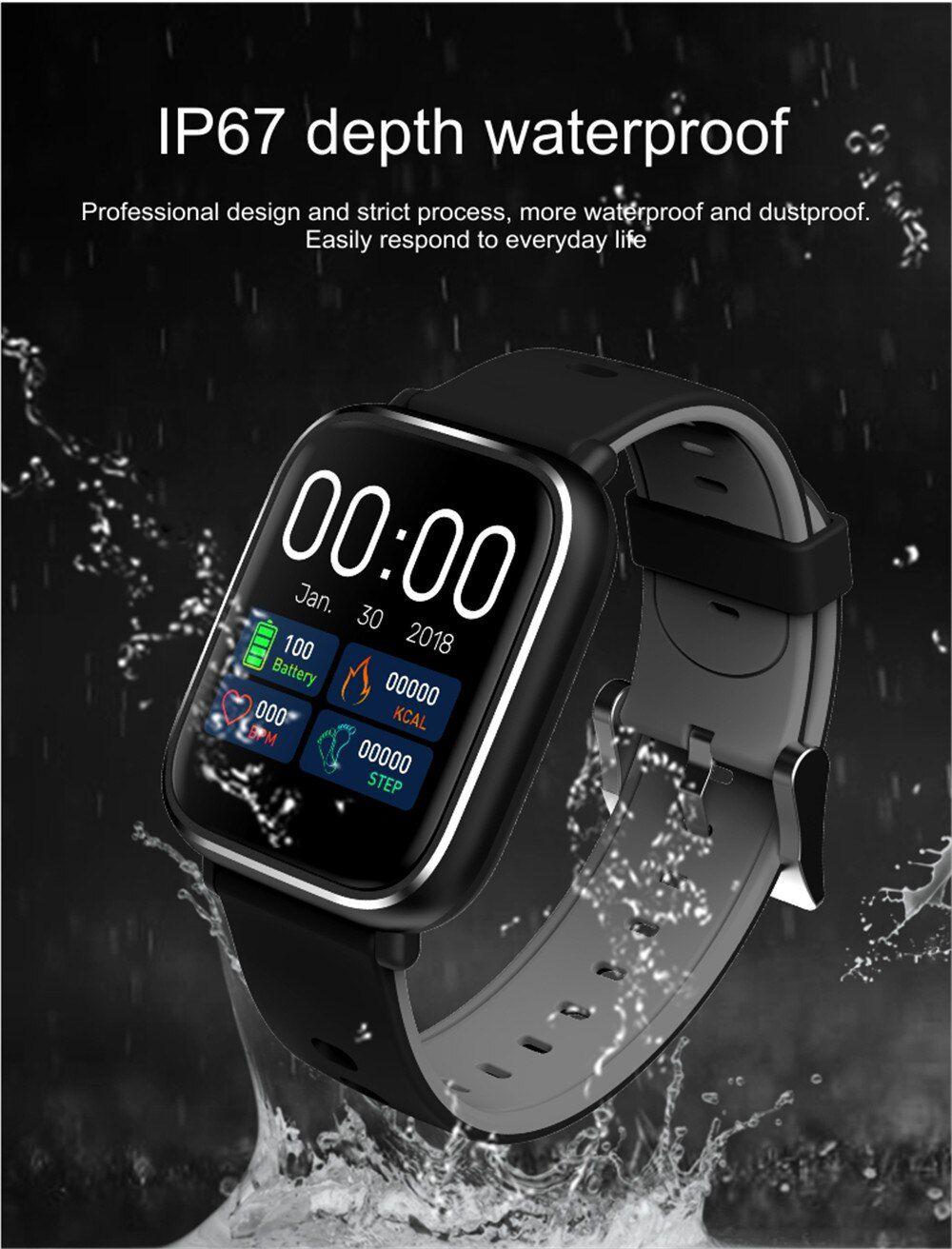 Pulseira Relogio Bracelete Q58S Inteligente Modo Esporte SmartWatch Android e IOS