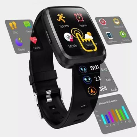 Pulseira Relogio Bracelete y7 Inteligente Modo Esporte SmartWatch Android e IOS