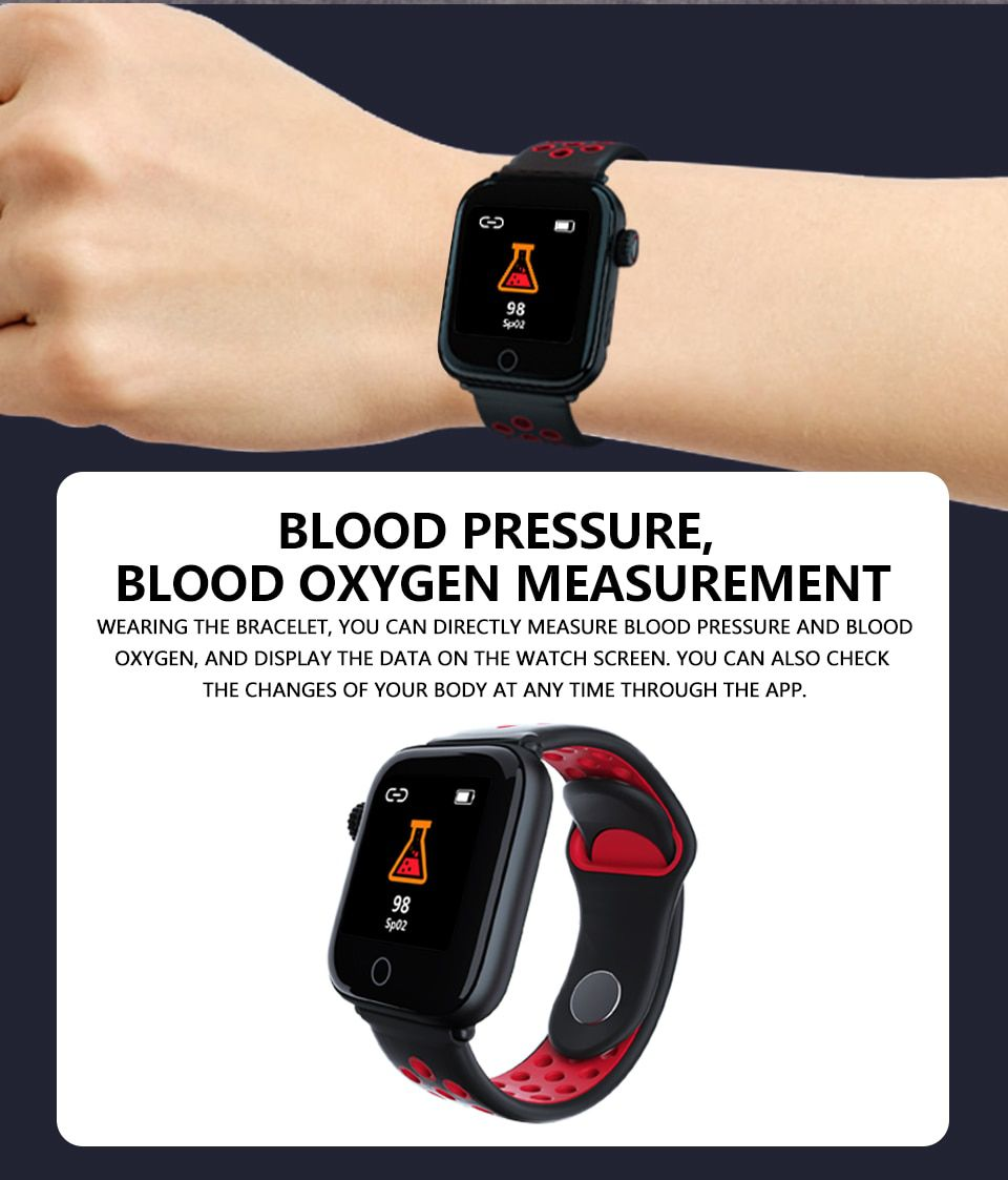 Pulseira Smartband Z7 Monitor Coração e  Pressão M Sport IOS E Android Mulher Homem e Criança Relógio Preto