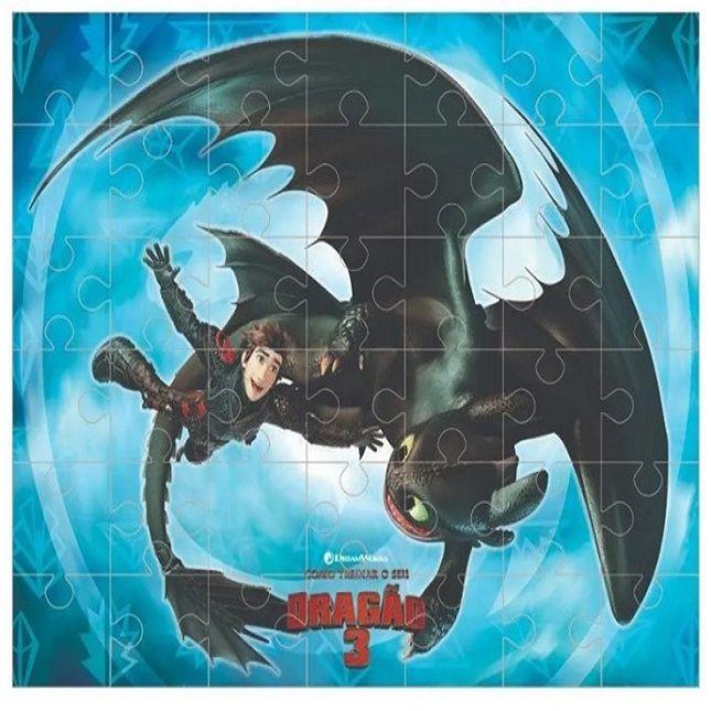 Quebra Cabeça Dragões 3 Fúria Da Noite