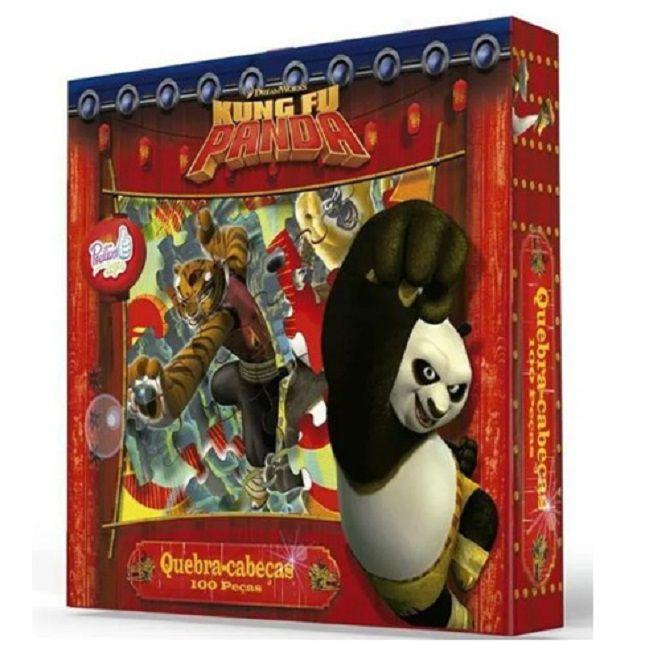 Quebra Cabeça Infantil Kung Fu Panda 100 Peças