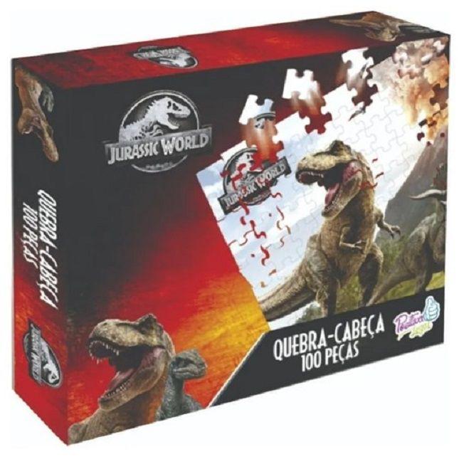 Quebra Cabeça Jurassic 100 peças