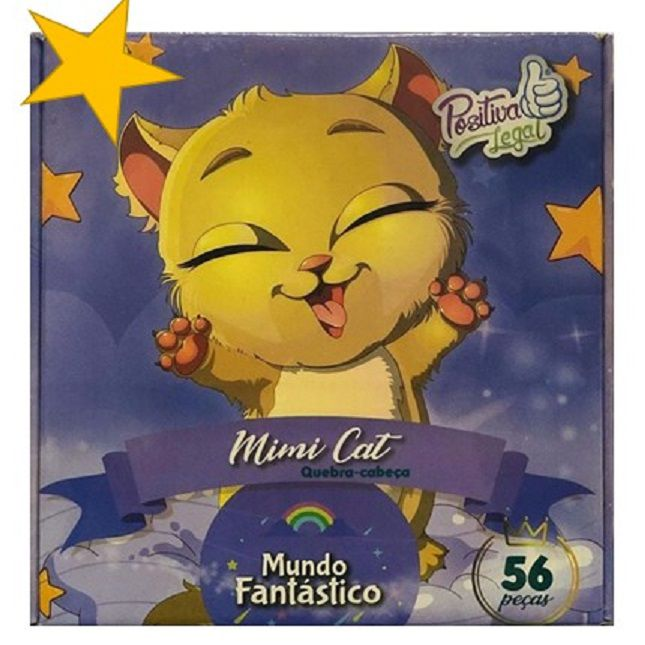 Quebra Cabeça Mimi Cat 56 Peças