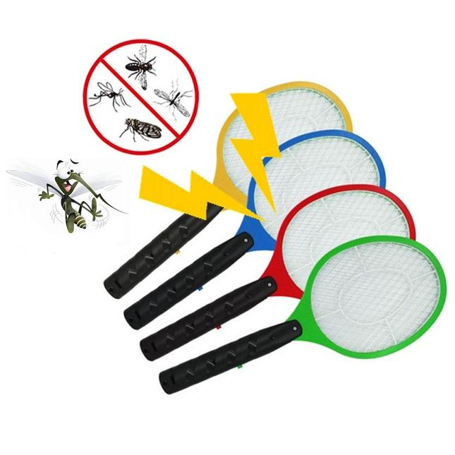 Raquete Mata Insetos E Mosquitos Elétrica Recarregável