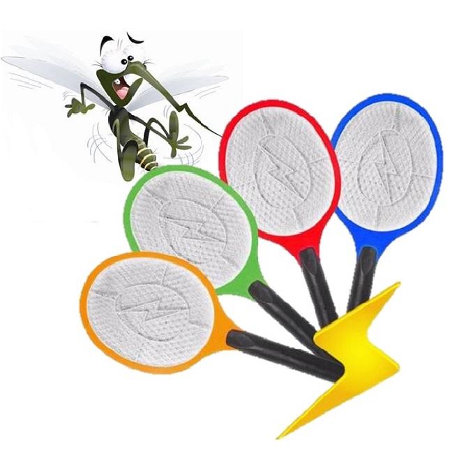 Raquete Mata Mosquito e Insetos Recarregavel
