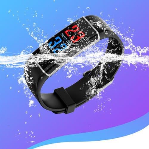Relogio Bracelete d12 Pulseira  Inteligente Smartband SmartWatch  Android e IOS